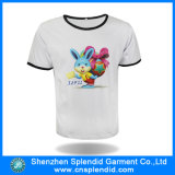 Projetar a camisa engraçada impressa do algodão T de 220 G/M