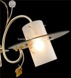 Klassische hängende Lampe mit Mosaik-Glas