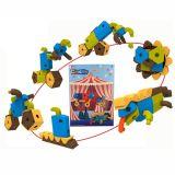 Pädagogisches DIY Toys 37PCS Foam Toy 6 in 1 EVA Block (10240746)