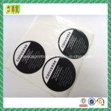 Papel personalizado impreso y etiquetas adhesivas de plástico