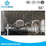 """Ciclón excelente Vhv 55 """" que recircula la cubierta de la fibra de vidrio del equipo de lechería del ventilador"""