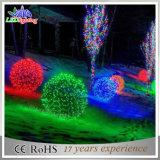 LED 3D Ball Decoração de Natal White Chasing Light