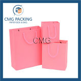 Saco de papel da compra decorativa com punho (DM-GPBB-098)