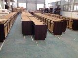 平板様式の木製のベニヤの台所ベースキャビネット