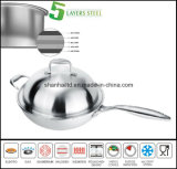 5 Ply All Wad Induction Wok