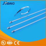 O aço inoxidável ajustável dilui a cinta plástica