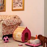 La casa de perro de lujo modificada para requisitos particulares