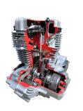 Motor poderoso da motocicleta de Cg200-Ntt
