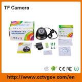 CCTVの監視カメラシステムマイクロSDカードUSBのプラグ