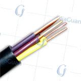 Cable de control aislado PVC de cobre de alambre del cable de transmisión del conductor