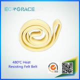 Eine 480 Grad-Wärme widerstehen Aluminiumfilz-Riemen strangpresßling-Kevlar-Nomex