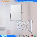 Latéral miroir décoratif de la magie 3X encadré double par laiton