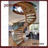 Vorgefertigte Holz Tread Wendeltreppe (DMS-1051)