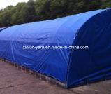 Coperchi della tela incatramata nel tessuto 100% della tela di canapa del poliestere per la tenda