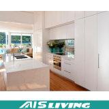 Gabinete de cozinha elevado moderno da laca do lustro (AIS-K031)