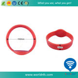 Kundenspezifisches Logo 13.56MHz Waterproof Ntag213 RFID Silicone Wristband