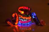 ペット安全犬犬のための点滅LEDライトカムフラージュカラー
