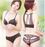 De Buena Calidad Sujetador y panty sin costuras de las mujeres (CSA01)
