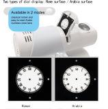 [Ganxin] colorear el reloj de Digitaces electrónico creativo teledirigido de la proyección del LED