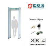 Promenade Through Security Metal Detectors avec 18 zones Sound Light Alarm