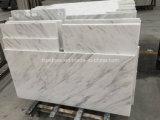 壁のクラッディングのための白い大理石のタイル