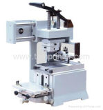TM-100 탁상용 수동 잉크 쟁반 패드 인쇄 기계 기계