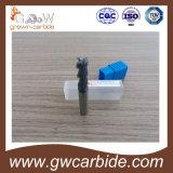 Горячий карбид вольфрама Endmill сбывания для алюминия