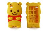 милый случай iPhone6 силикона медведя Winnie шаржа 3D