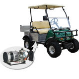 Caminhão com erros Del2023gh da carga do golfe híbrido do gerador