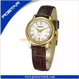 Arival neuf ! Montre en gros de cuir de montres-bracelet d'hommes