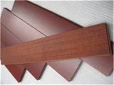 A espessura do revestimento de madeira natural de alta qualidade de 18mm