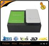 Портативное перезаряжаемые Projectors Wi-Fi или взаимодействие HDMI Ios Intelligent, High Capacity перезаряжаемые Battery, гнездо для платы TF для Smartphones