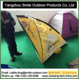 プリント防水浜釣テントをくまなくガラス繊維のテントのロゴ
