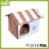 Camera bianca comoda farcita dell'animale domestico della peluche di colore (HN-pH333)
