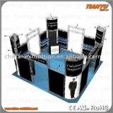 Cabina de aluminio del sistema del braguero de la etapa de la exposición