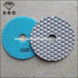 Garnitures de polonais sèches de l'éclat Dd-6 pour le polonais de marbre de granit (100X2.2mm)