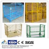 Stahlmaschendraht-Ladeplatten-Rahmen für Lager-Speicher mit Rädern