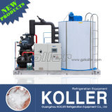 Fishing Boat를 위한 PLC Controller를 가진 중국 Koller Salt Water Flake Ice Maker Machine