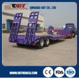 3/4 di asse Hydraulic Extendable 50t 60t Low Bed Trailer