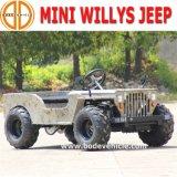 Jeep confiado presagiado de los cabritos 150cc Willys de Quanlity nuevo mini para el detalle de la venta
