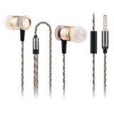 Nouvel écouteur de stéréo en métal de conception de mode
