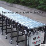 Trasportatore flessibile elettrico del acciaio al carbonio per il magazzino
