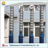 Pompe de pétrole à haute pression submersible de turbine verticale de puits profond
