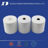 2015 puntos de venta revestidos superiores de la alta calidad rodillo del papel de la posición de la caja registradora de 80m m x de 80m m