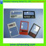 Kundenspezifisch anfertigen Objektiv-Vergrößerungsglas Hw-803 des Vergrößerungsobjektiv-3X PlastikFresnel 85*55mm