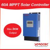 Regulador solar máximo de la carga de la visualización 60A 3000W 24V MPPT del LCD