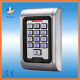 Controle de acesso impermeável da porta RFID do cartão do teclado do metal do IP 65