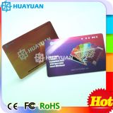 Tarjeta de visita elegante metálica de la ISO 15693 RFID ICODE SLI del PVC 13.56MHz de HUAYUAN