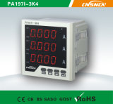 Industrial Use를 위한 Dm96-Iframe Size 72*72mm Factory Price 단 하나 Phase LED Display AC Digital Ampere Meter,