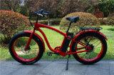 bicicleta elétrica da praia gorda sem escova poderosa do motor 500W